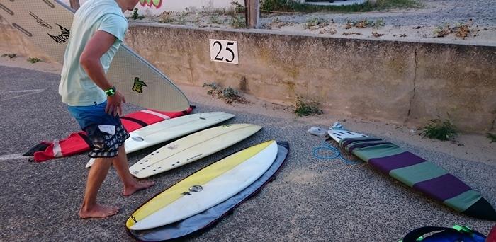 Unsere Surfboard Sammlung