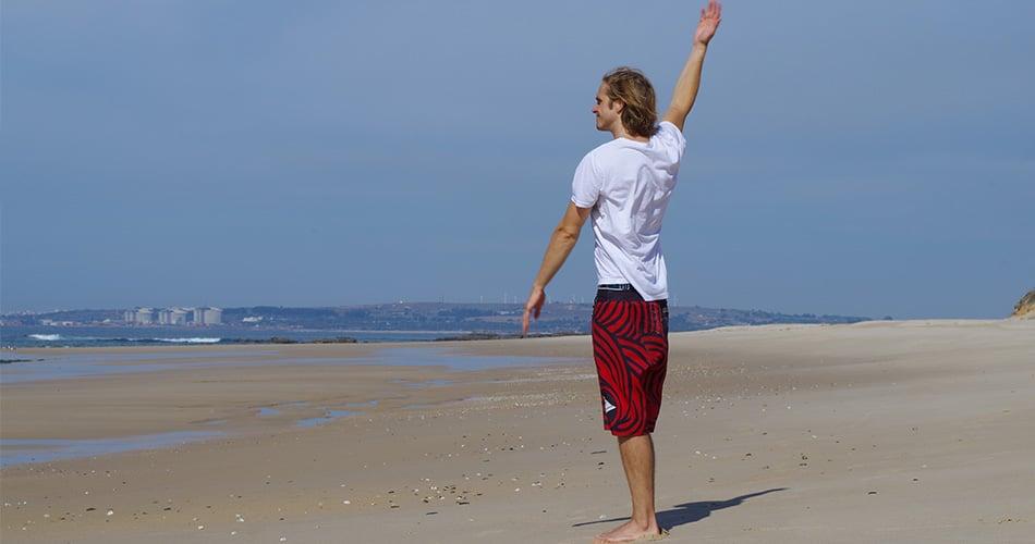 Surf Warm up arme kreisen