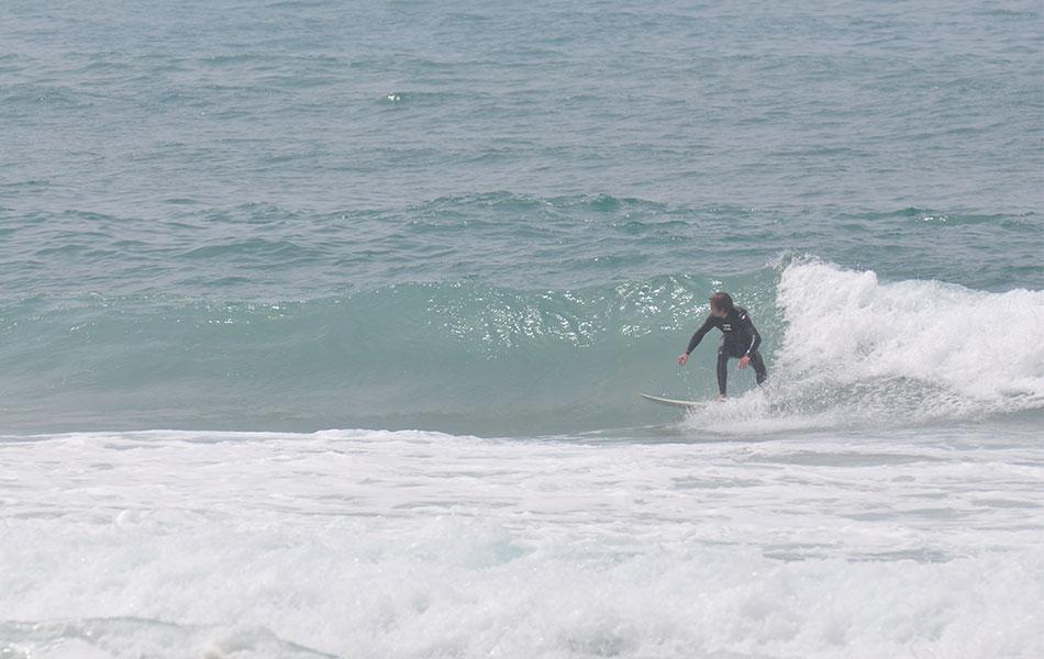 Grünwellenstart surfen