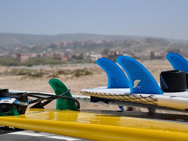 Surfboard Finnen Set Up