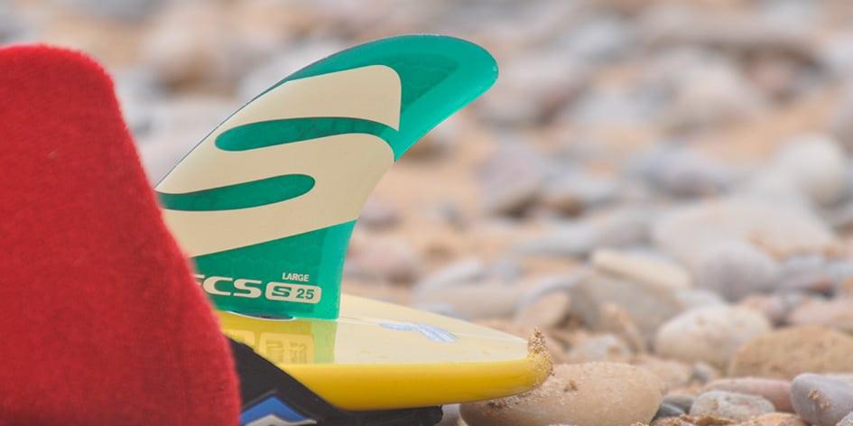 Surfboard Finnen Systeme