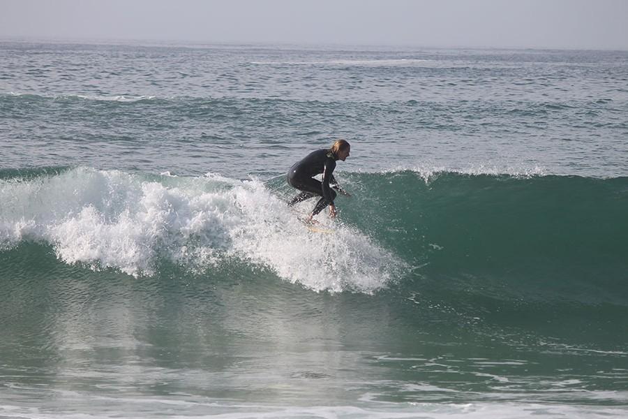Takeoff surfen Technik