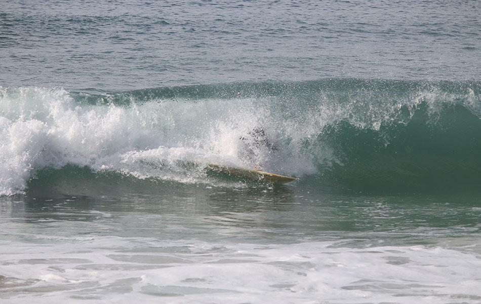Takeoff Wipeout Wellenreiten