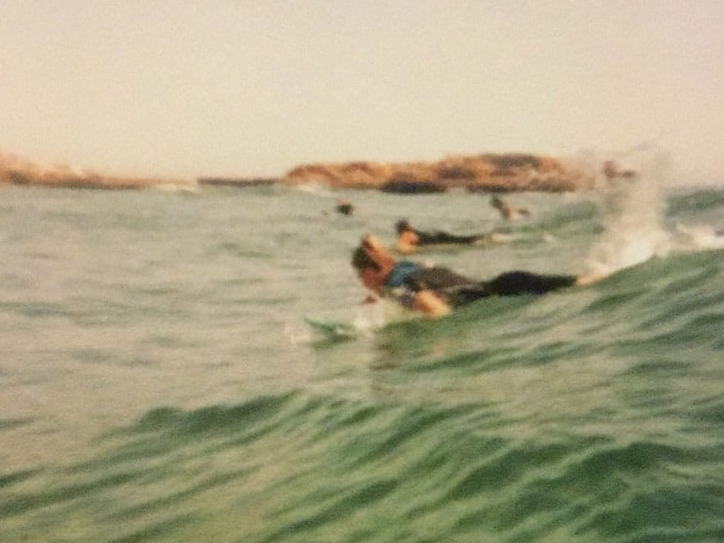 Wellenauswahl Surfen