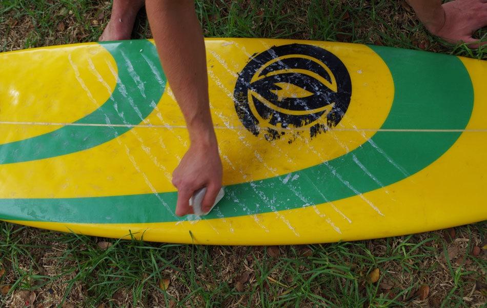 Surfboard wachsen Basecoat