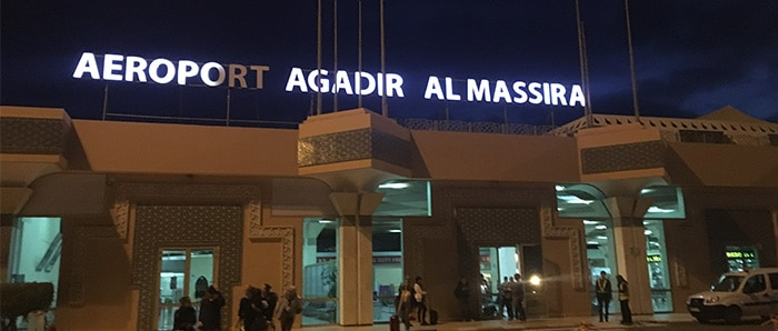 Anreise Marokko