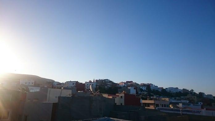 Sonnenaufgang Tamraght