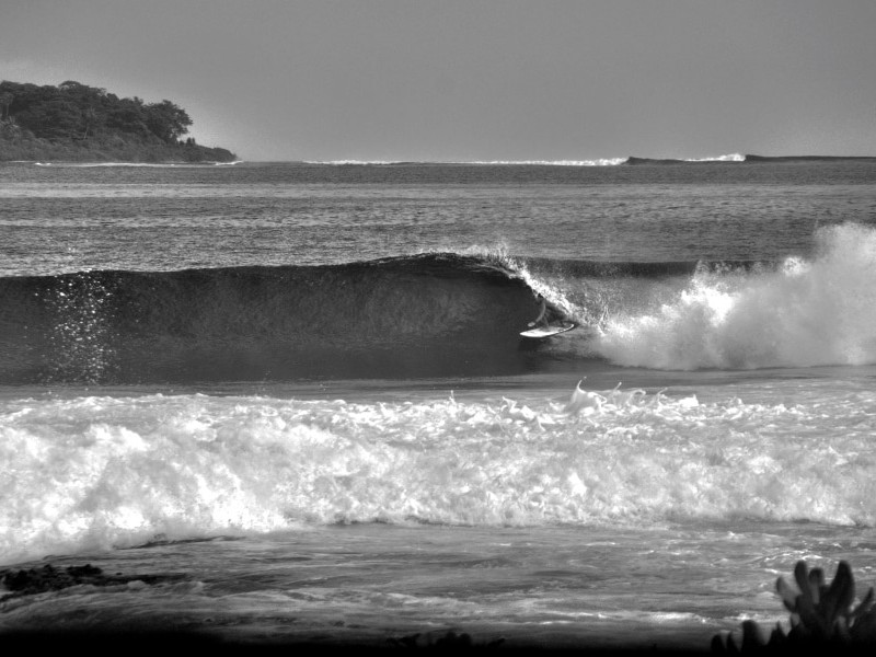 Surfen Indonesien Barrel