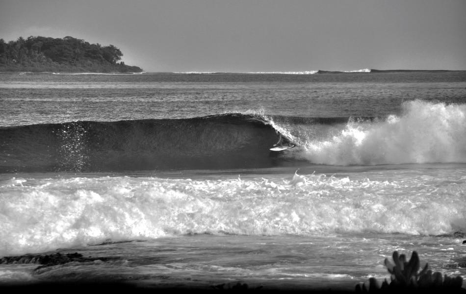 Surfen Indonesien Barrel