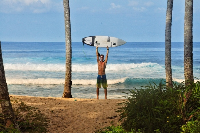 Surfen Indonesien Irgendwo im Nirgendwo