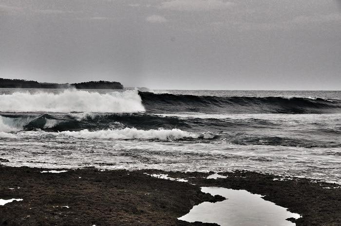 Surfen Insel Indonesien