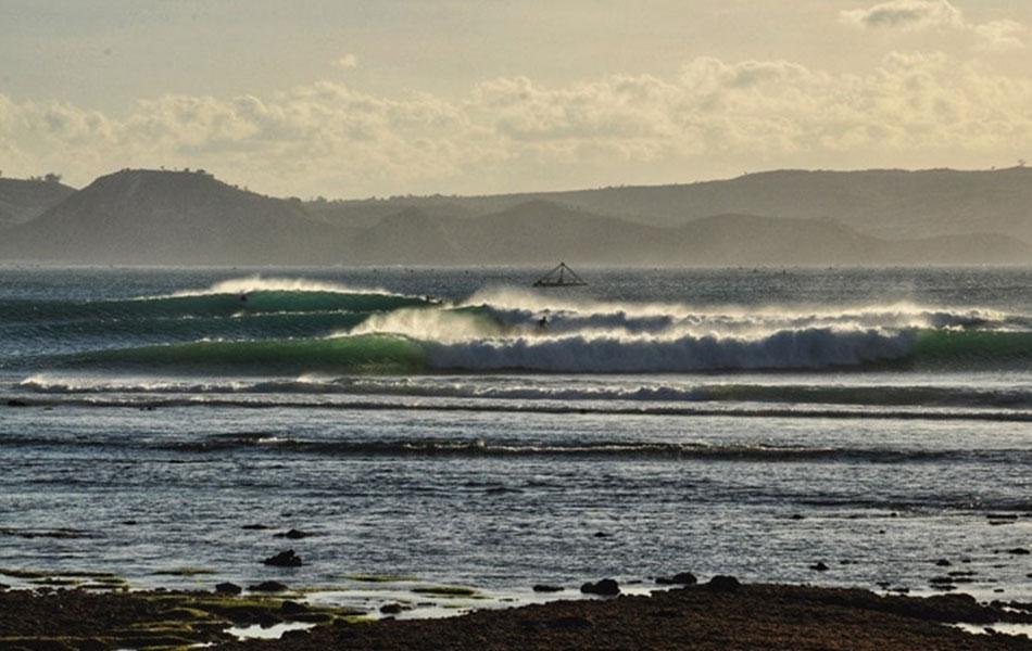 Surfen auf Lombok