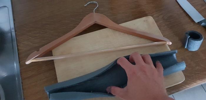 Neopren Kleiderbügel selbst bauen