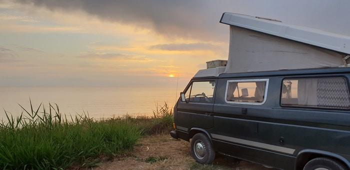 Surfen Portugal mit dem Camper