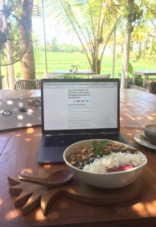 Remote Work Bali